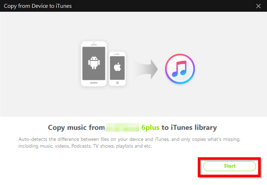 2 Helpful Methods to Move Music from iPhone6/7/8/8Plus/X/XR/XS/XS Max to iTunes