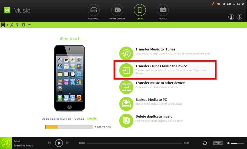 How to Transfer Music from iTunes to iPod Touch/mini/Shuffle/nano/classic  -Transfer iTunes Music to Device