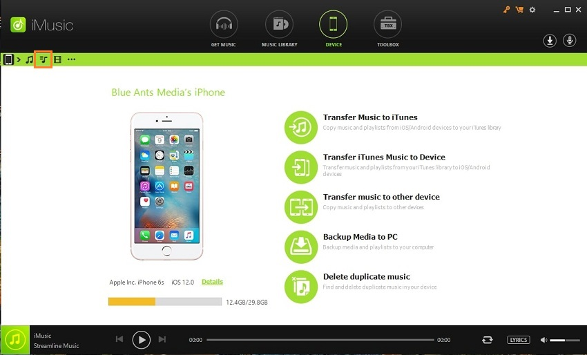 2 Simple Solutions to Transfer Playlist from iPhone to iTunes- Go to playlists