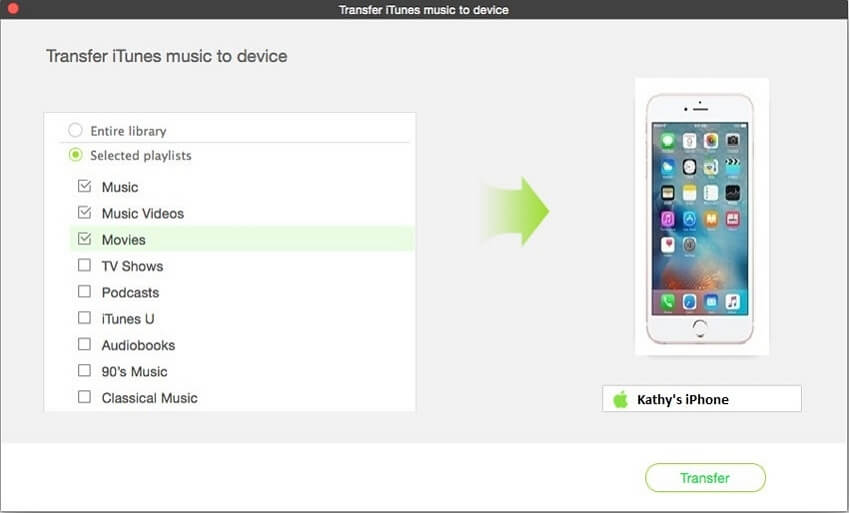 How to Get Music from iTunes to iPhone 8/8plus/X/XR in 3 Simple Methods