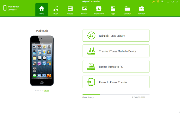 7 Useful Solutions to Transfer Music to iPod Without iTunes - iSkysoft iTransfer
