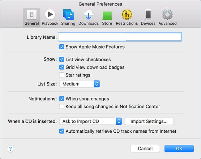Convert iTunes Songs to MP3-go to general reference