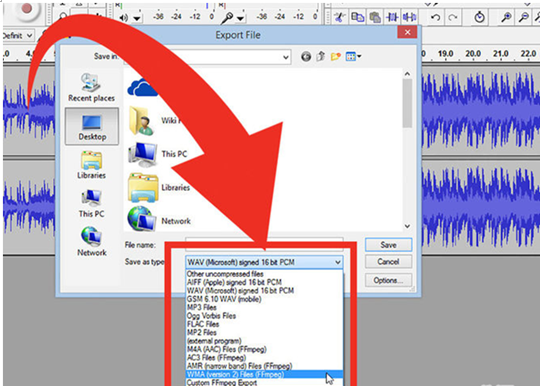 use audacity to edit video