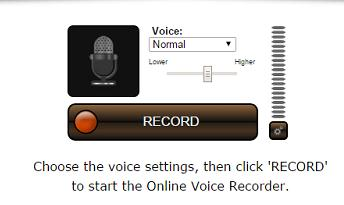 Voice Spice Recorder