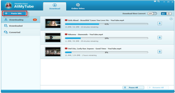 Wondershare YouTube Musik-Downloader