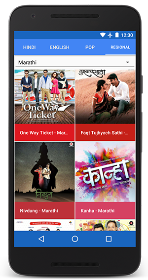 download bollywood songs in mobile