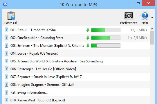 youtube to mp3 flv