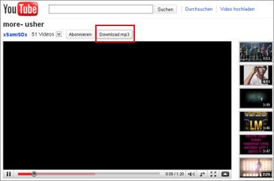 mp3 da youtube estensione firefox