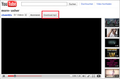 youtube mp3 firefox