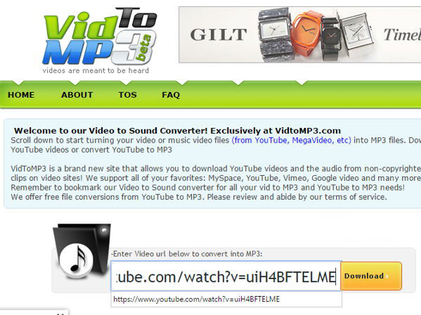 youtube to mp3 converter online free high quality download