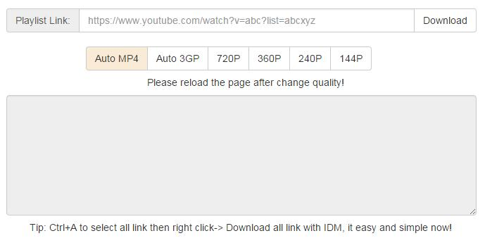 download playlist from youtube to mp4