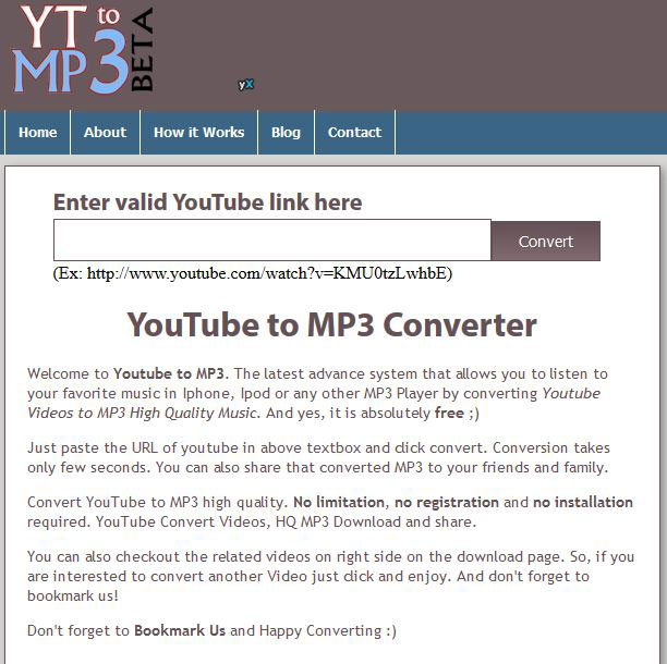free youtube converter mp3