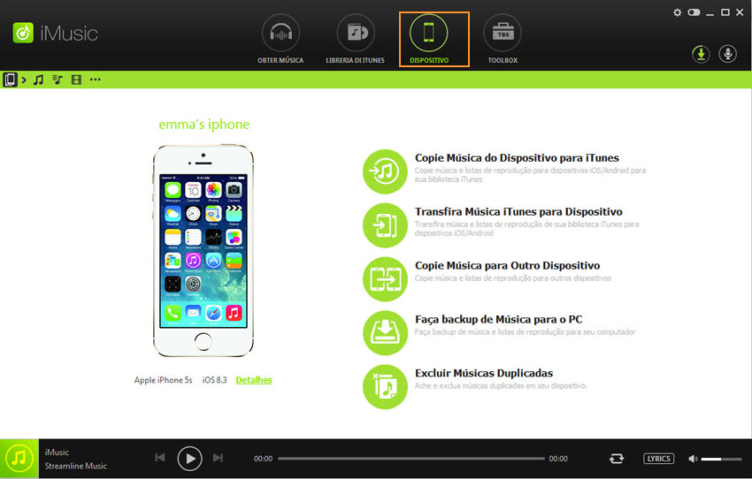 como transferir músicas do windows media player para iphone sem itunes