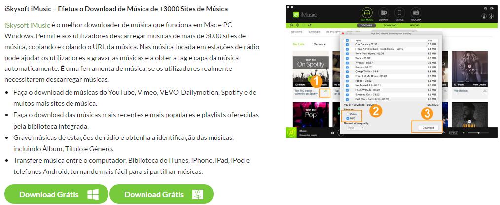 iMusic Para Portuguese