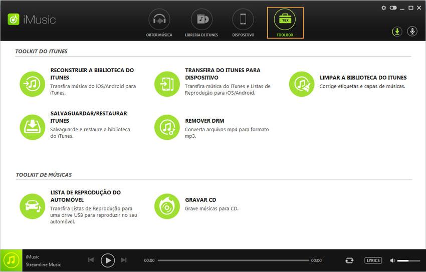 toolbox of iMusic