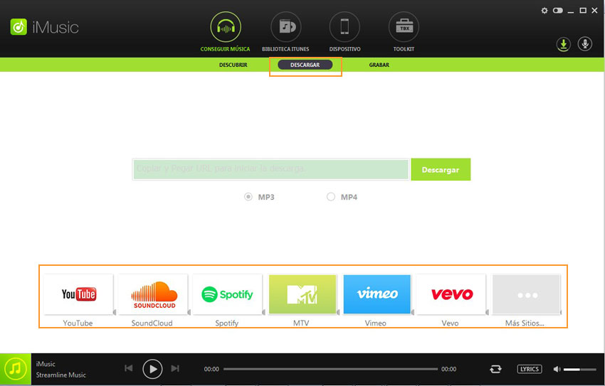 descargar canciones de spotify al teléfono