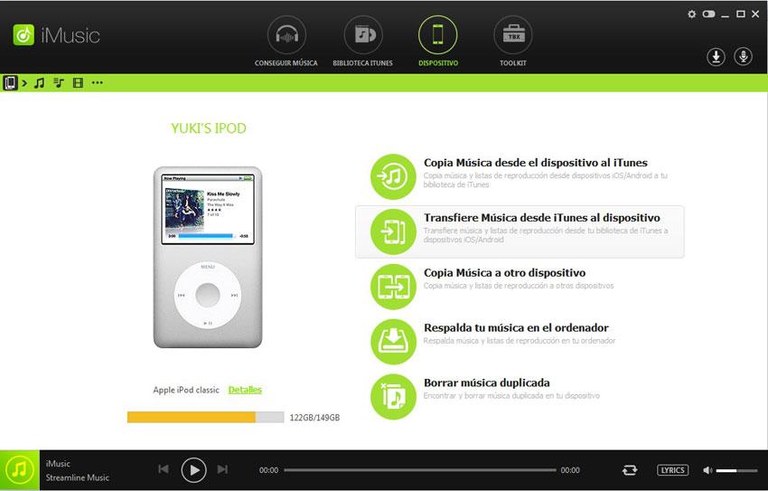 música ipod