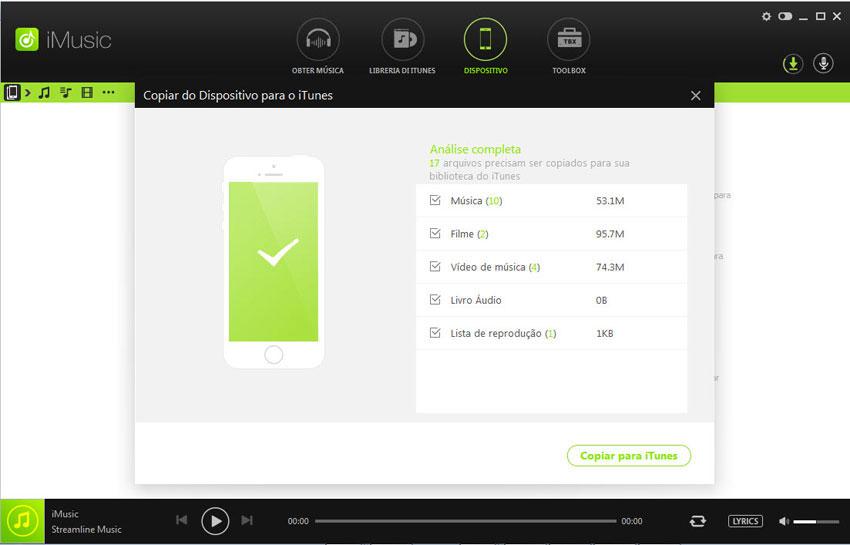 añadir música desde ipod