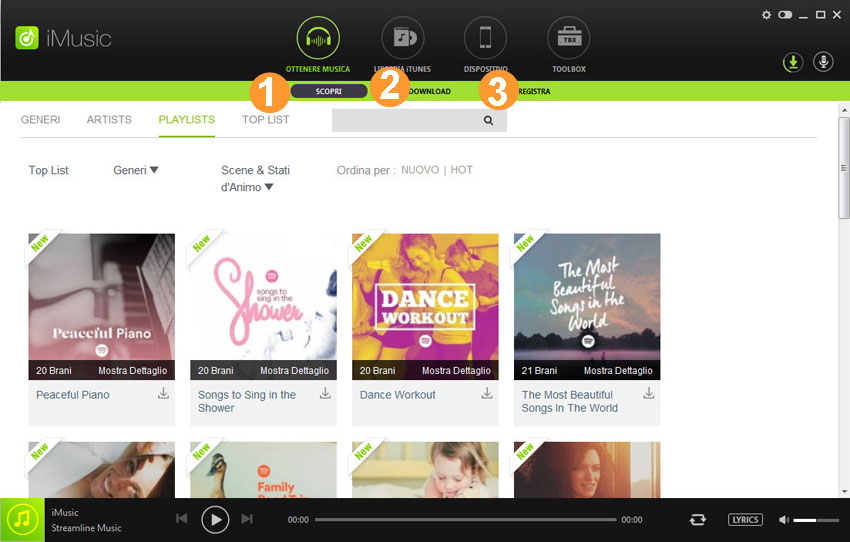 how to download music in iMusic