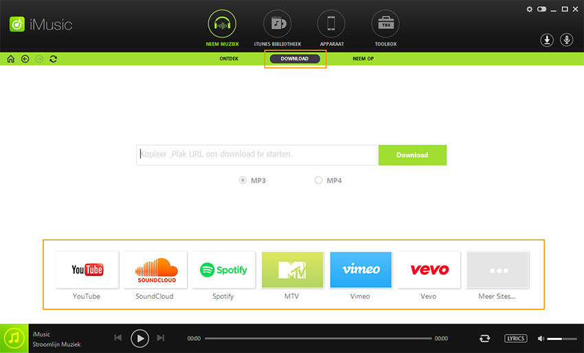 download in iMusic