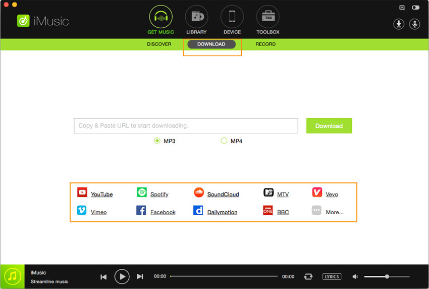mp3 spotify player