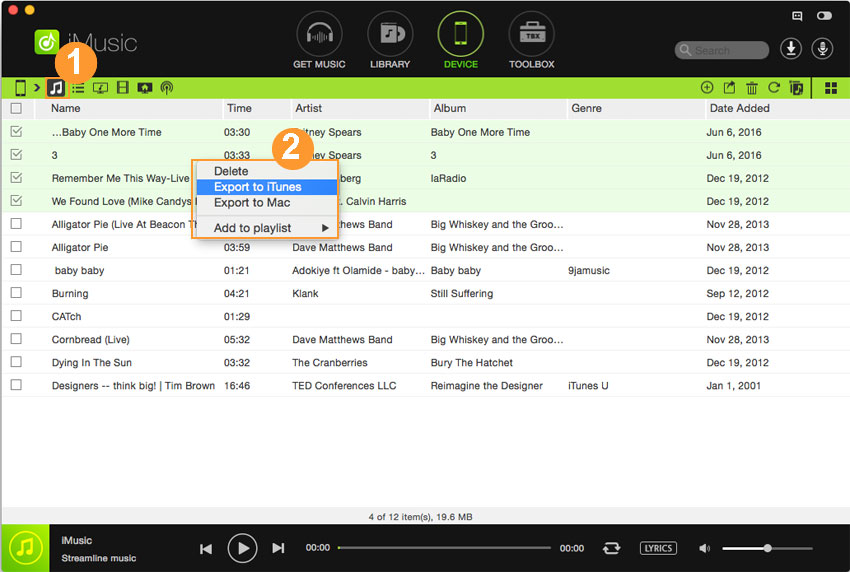 how to transfer android music to itunes