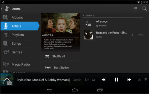 itunes music to android