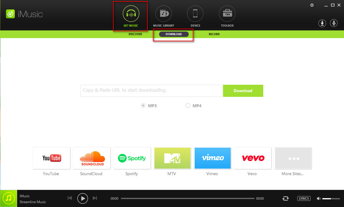 How to Download spotify Music Directly-launch iMusic